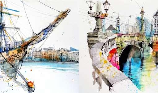 Kompakt: A quick sketch of Stockholm (Warm up)