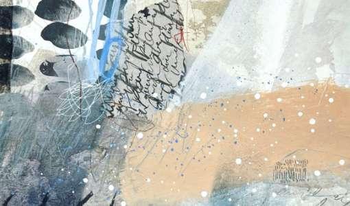After Work: Poetische Mixed Media Collage
