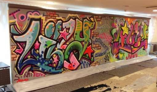 **Graffiti - Ein Hauch von Kunst-Rebellion