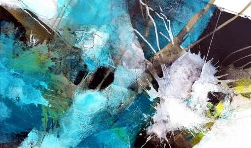 Kunstwoche mit Tom Kree: Hilfe ich stehe vor einer leeren Leinwand!